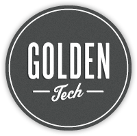 IT support Golden Tech Logo